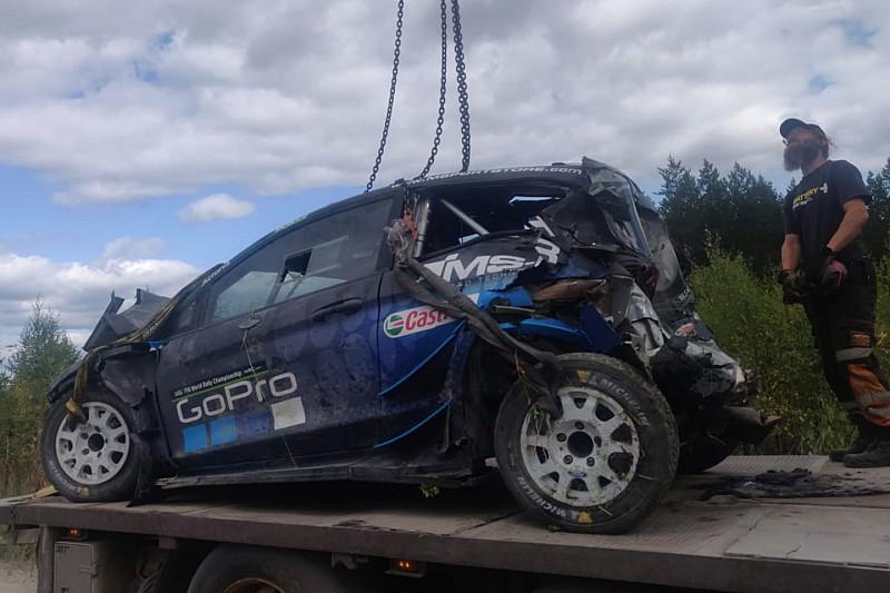 Paddon: L'accident lors du test en Finlande était inévitable