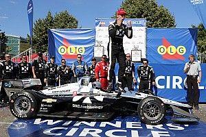 Пажено одержал победу на этапе IndyCar в Торонто