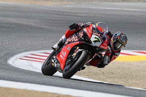 """SBK, Laguna Seca, Davies sul podio: """"Ripago così il mio team"""""""