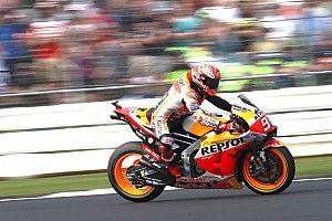 Test MotoGP Misano: Marquez cade, ma comanda alle 11