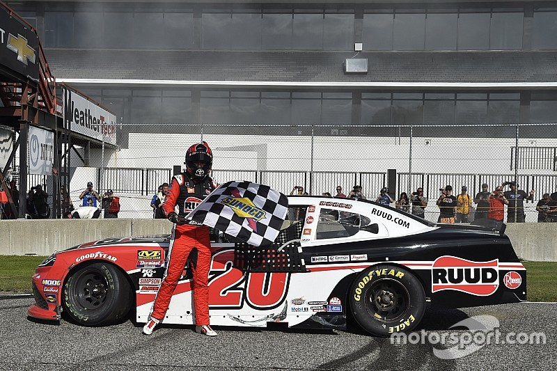 Christopher Bell takes Xfinity win at Road America