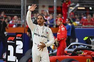 Hamilton rég örült ennyire egy második helynek: videó