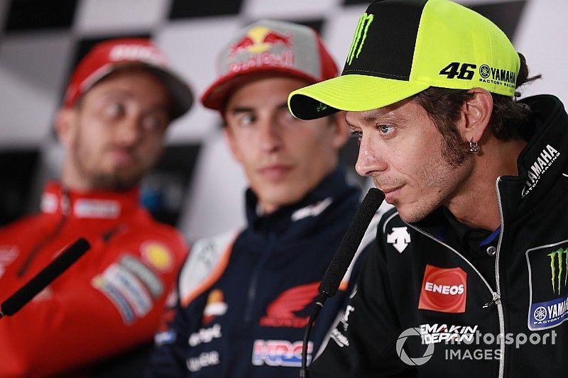 Marquez, Rossi summoned over qualifying clash