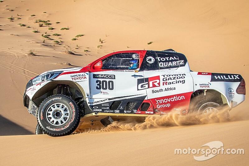Coma ondersteunt Alonso als navigator in Dakar-voorbereiding