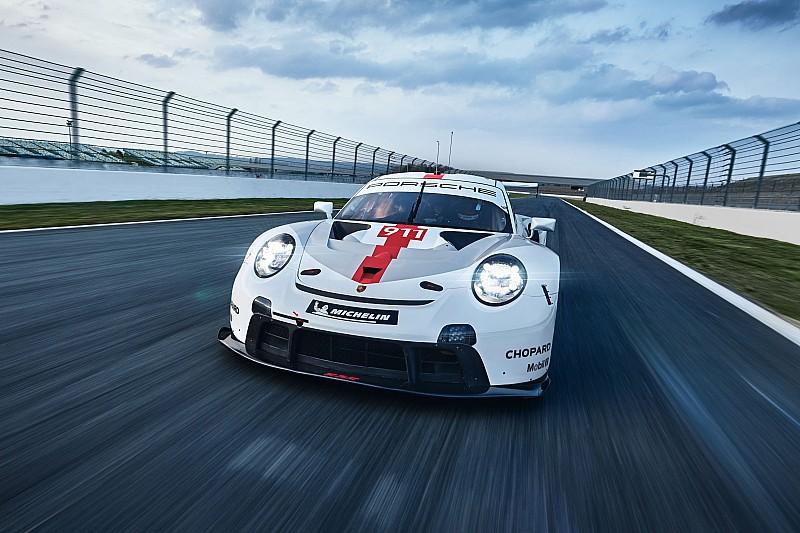 Porsche представила новый автомобиль для гонок на выносливость