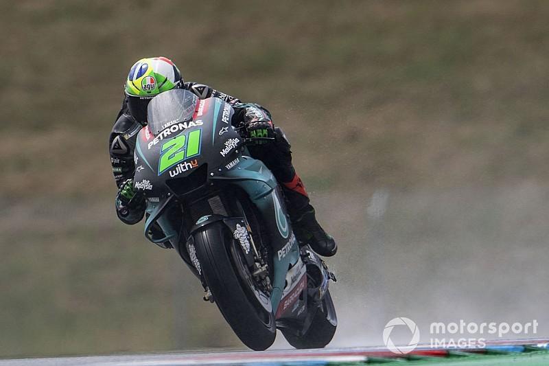 MotoGP, Red Bull Ring, Warm-Up: Morbidelli prima della pioggia