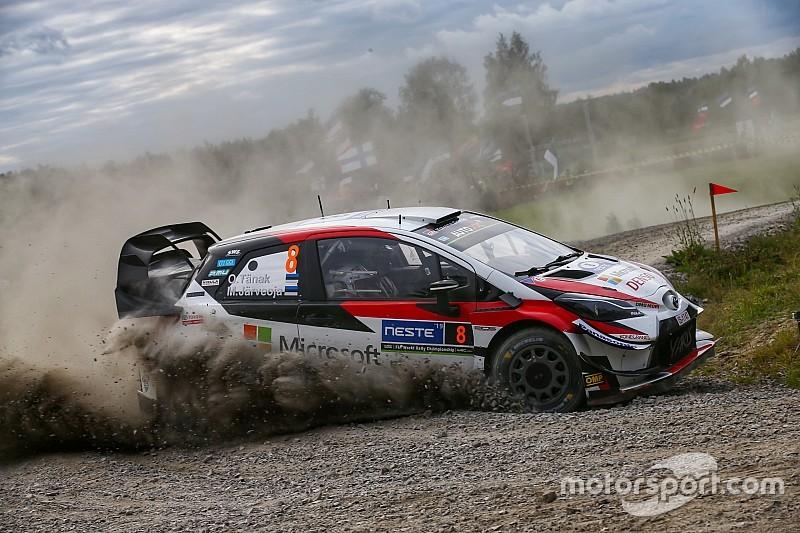 WRC Finland: Tanak loopt uit dankzij overwinning