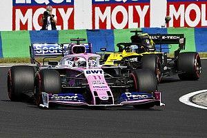 """Pérez critique une manœuvre """"très irrespectueuse"""" de Ricciardo"""