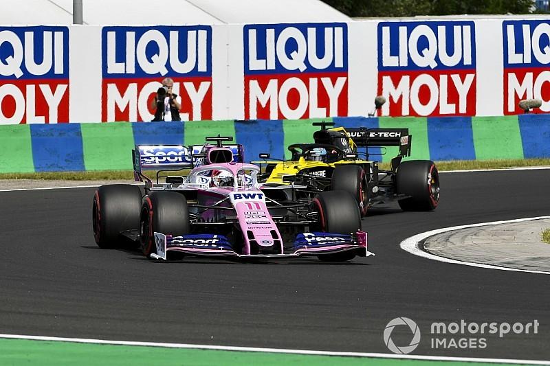 """Pérez: """"Ricciardo hizo un caos"""""""