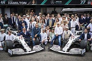 GALERÍA: Mercedes y su outfit retro en Alemania