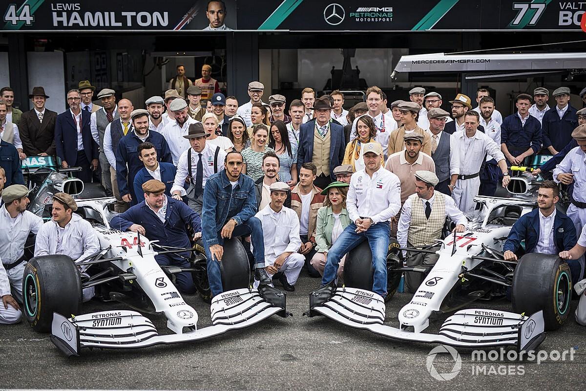 A Mercedesnél nem érzik magukat favoritnak a 2020-as F1-es szezonban