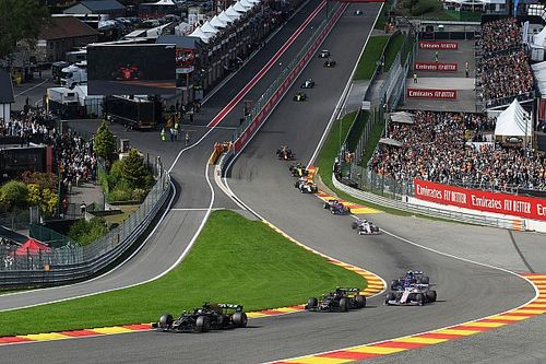 Spa-Francorchamps in beeld voor F1-kwalificatierace in 2020