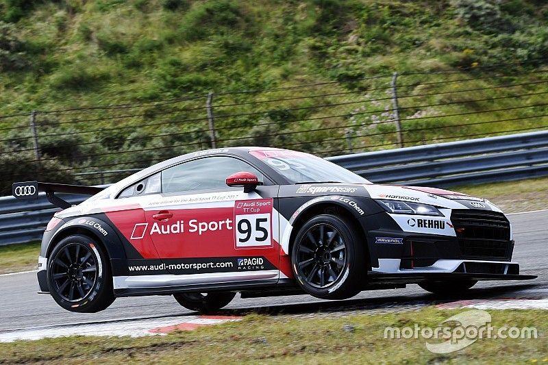 """Van Oranje racet in Audi Sport TT Cup: """"Even wennen, maar veel lol gehad"""""""