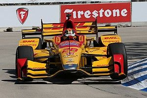 "Hunter-Reay: ""I was getting every last bit out of the car"""