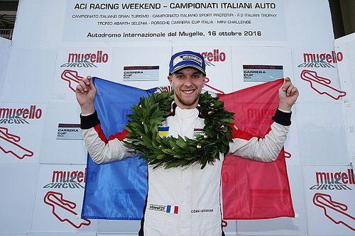 Parola a Ledogar, fresco vincitore del titolo della Carrera Cup Italia