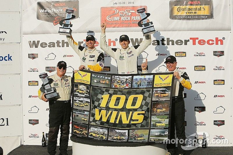 Corvette boss pays tribute to drivers for 100th IMSA win