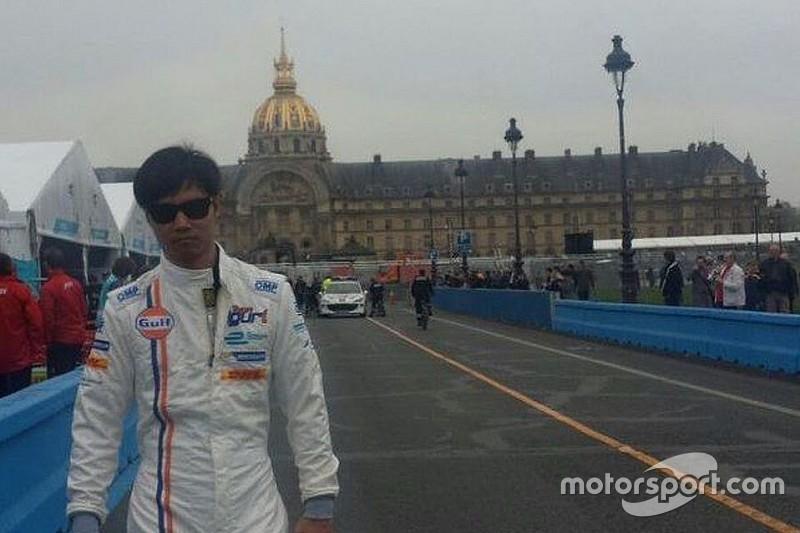 Così Ma Qing Hua potrà disputare l'ePrix di Parigi