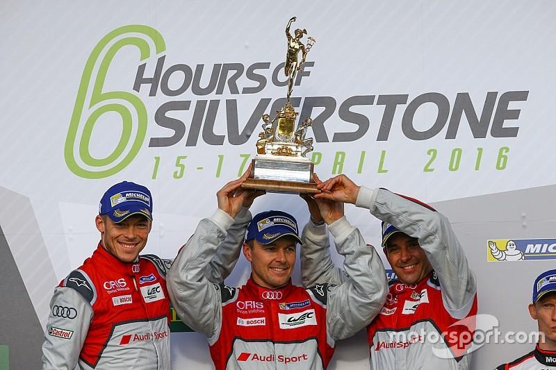 Kemenanganan Audi di WEC Silverstone dicoret akibat melanggar aturan skid block