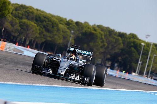 Mercedes tests 2017 Pirelli F1 tyres