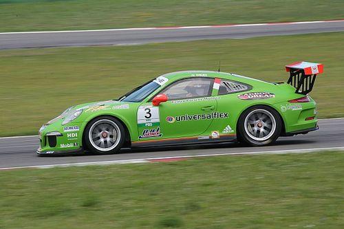 Mattia Drudi sul circuito di casa mette a segno la sua prima pole nella Carrera Cup Italia
