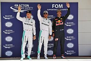 Formula 1 Qualifying report US GP: Hamilton scorches to pole ahead of Rosberg