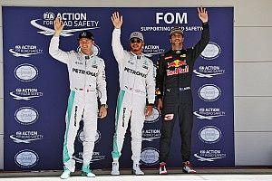 US GP: Hamilton scorches to pole ahead of Rosberg