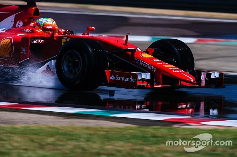 Gutierrez, Ferrari'yle 2017 lastiklerini test etti