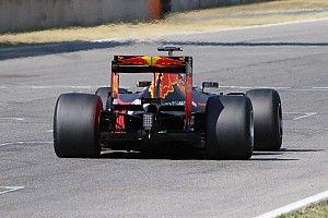 Gasly avec Red Bull à Abu Dhabi pour les tests Pirelli 2017