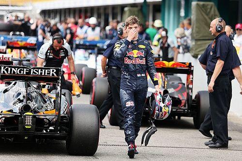 """Verstappen """"took one for the team"""" as Ricciardo rues Turn 1"""