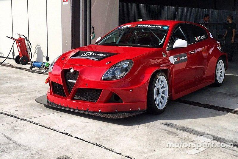 Ecco la Giulietta TCR in rosso Alfa Romeo!