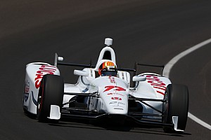 IndyCar Qualifying report Servia fastest in 10-33 qualifying to nail inside of fourth row