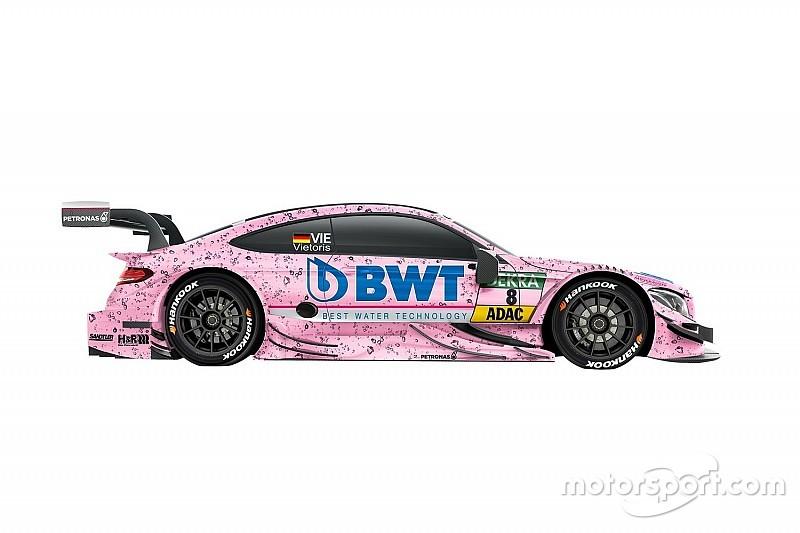 В DTM появятся два розовых Mercedes