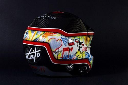 Un casco molto speciale per Kajetanowicz