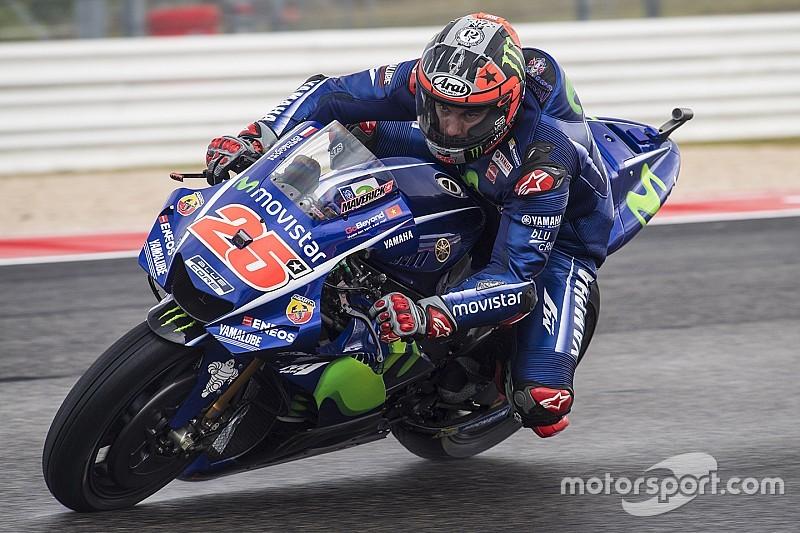 """Viñales over titelkansen: """"Yamaha moet verbeteren in de regen"""""""