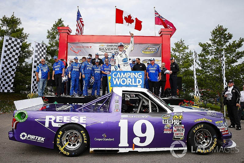 Austin Cindric takes first Truck win with controversial last-lap bump