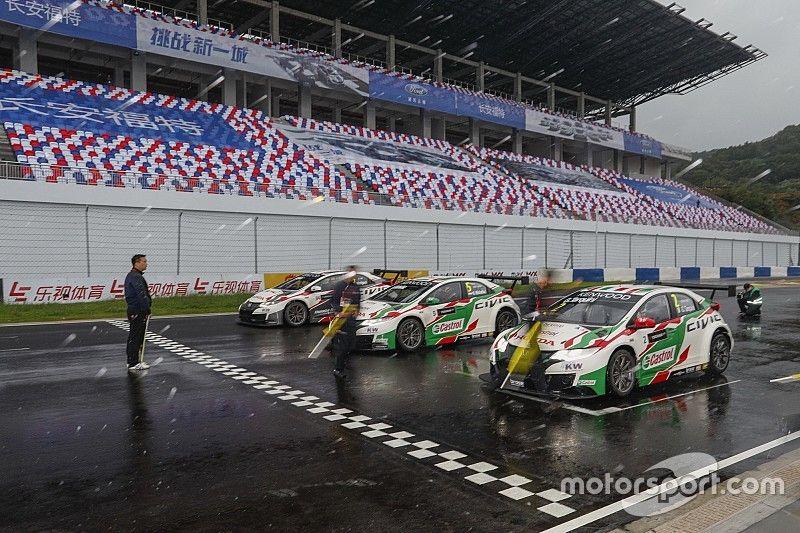 L'équipe Honda exclue des résultats de la Chine!