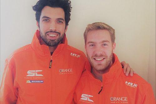 Pietro Ometto è il copilota della selezione di Orange1 Racing