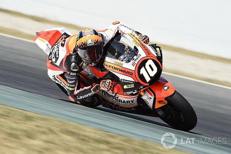 Marini forfait pour le Grand Prix d'Allemagne