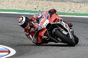 MotoGP Breaking news Lorenzo upbeat about new Ducati fairing's