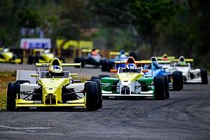 Coimbatore JK Tyre: Prasad holds off Reddy for Race 3 win