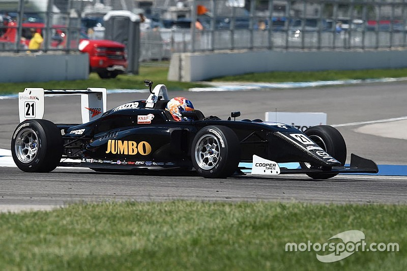 Road America USF2000: VeeKay conquers as Askew fades