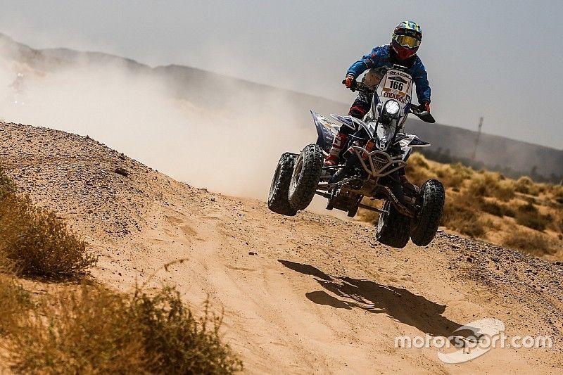 Nicolás Cavigliasso llega a la mitad del Dakar 2019 líder en quads