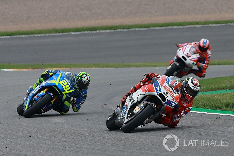 """Lorenzo expected """"much worse"""" Sachsenring result than 11th"""
