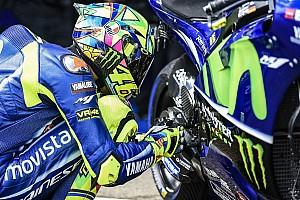 Valentino Rossi estrenará un nuevo diseño de casco en 2018