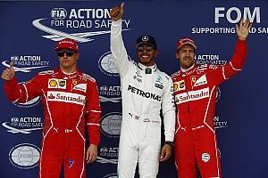 Formula 1 Hasil Grid start balapan GP Inggris 2017