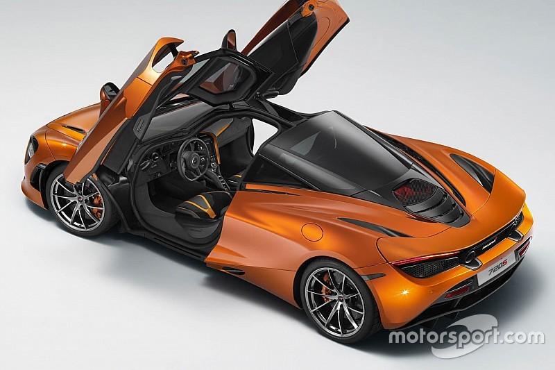 Une image de la McLaren 720S a fuité!
