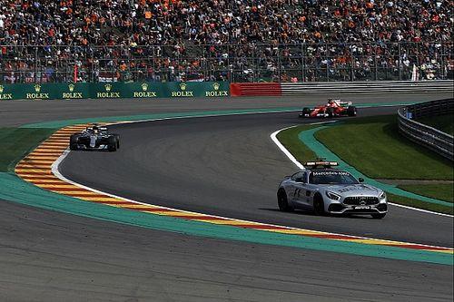 """Lewis Hamilton: Safety-Car-Einsatz in Spa zur Show, """"wie bei NASCAR"""""""