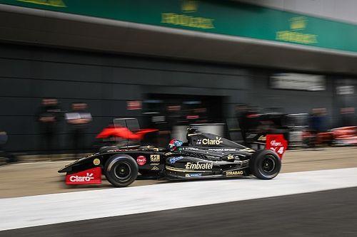 Fittipaldi repite y arrancará primero en las dos mangas de la V8 3.5