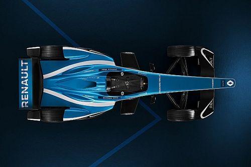Renault показала обновленную ливрею машины в Формуле Е