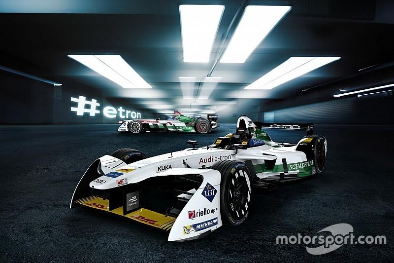L'Audi ha mostrato l'inedita e-tron FE04 di Formula E!